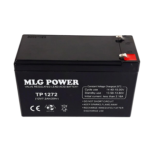 باتری یو پی اس 12ولت 7.2 آمپر ساعت ام ال جی پاور