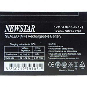 باتری یو پی اس 12 ولت 7 آمپر نیو استار