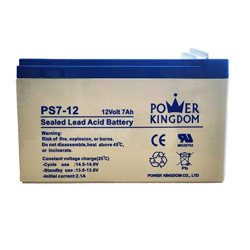 باتری یو پی اس 12 ولت 7.0 آمپر ساعت پاور کینگ دام