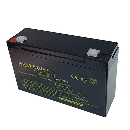 باتری یو پی اس 6 ولت 12 آمپر ساعت بست ان جی اچ